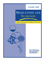 Medications & Nutrition Loose Leaf Inserts